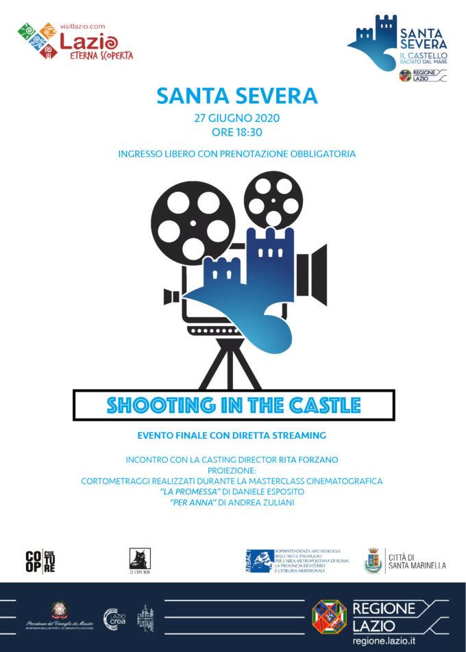 """Santa Severa: il Castello diventa un set cinematograficocon """"Shooting in The Castle"""""""