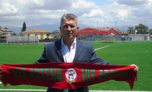 Tommaso Maurizi è il nuovo Responsabile dell'area tecnica della Vis Artena