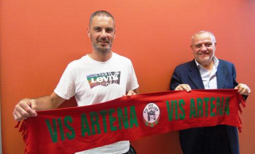 La Vis Artena piazza il primo tassello: confermato il capitano Marco Paolacci