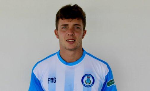 Il centrocampista Riccardo Lapenna