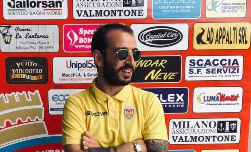 """Città di Valmontone (calcio, I cat), il neo tecnico è Sarnino: """"Il coronamento di un sogno"""""""