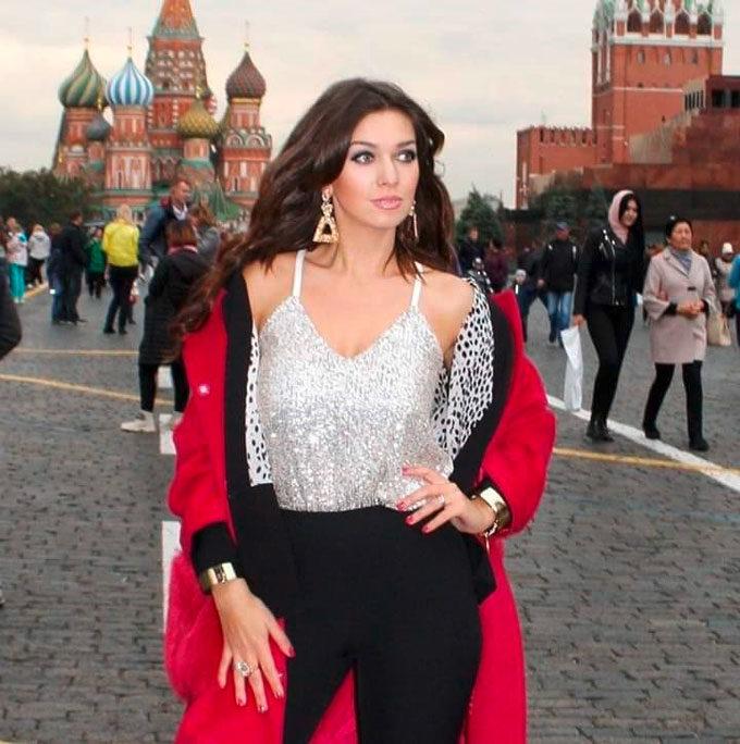La poetessa russa Spirova Ekaterina