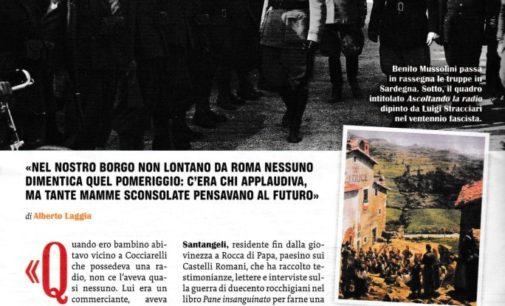 """Su Famiglia Cristiana la storia narrata da """"Pane insanguinato"""" di Maria Pia Santangeli"""