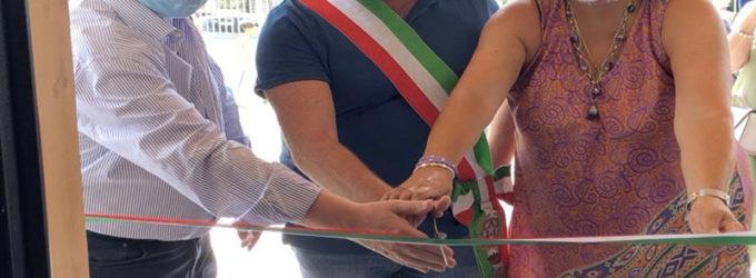INAUGURATO IL CENTRO ANZIANI  FESTA GRANDE A CAVA DEI SELCI