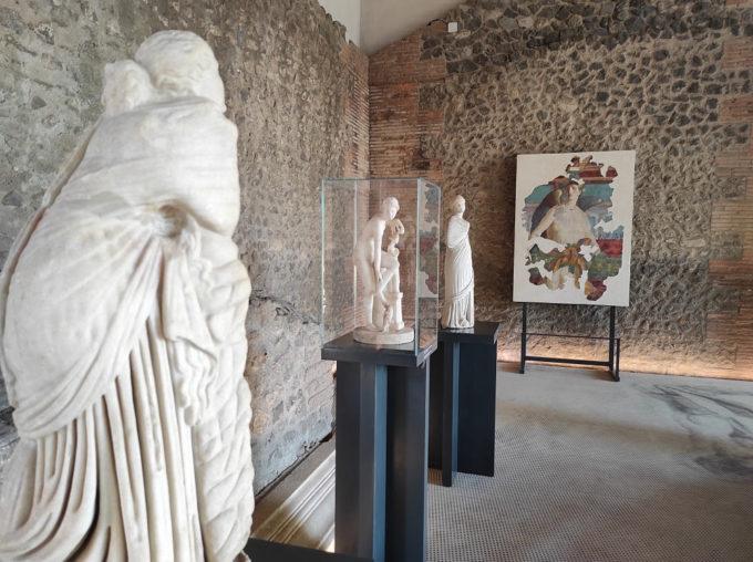"""""""VENUSTAS. Grazia e bellezza a Pompei"""" – la Mostra alla Palestra grande"""