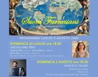 Bis a Palazzo Farnese di Caprarola per gli Sfaccendati con ilGreenland Trio