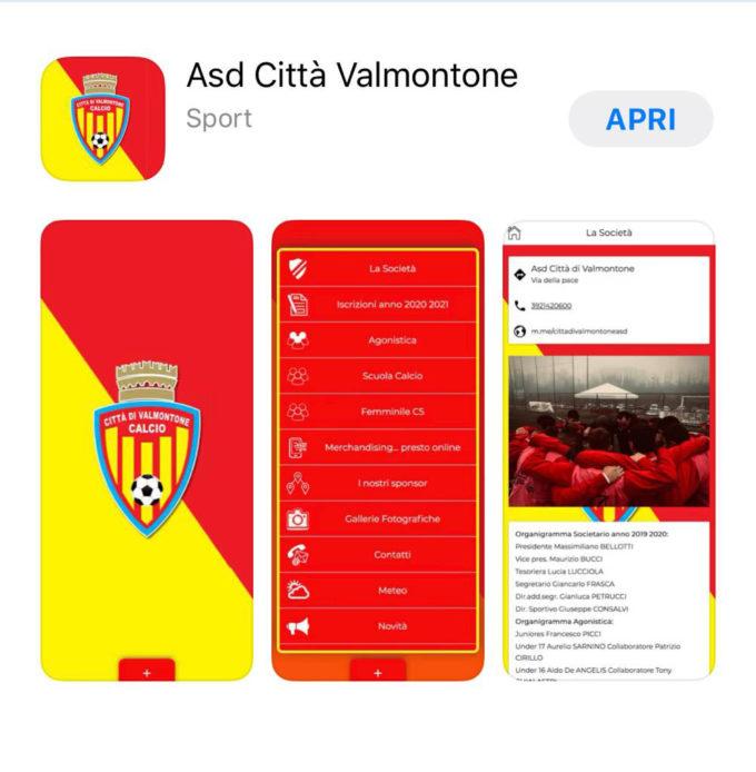 """Il Città di Valmontone è sempre più avanti, il presidente Bellotti presenta la nuova """"app"""" societaria"""