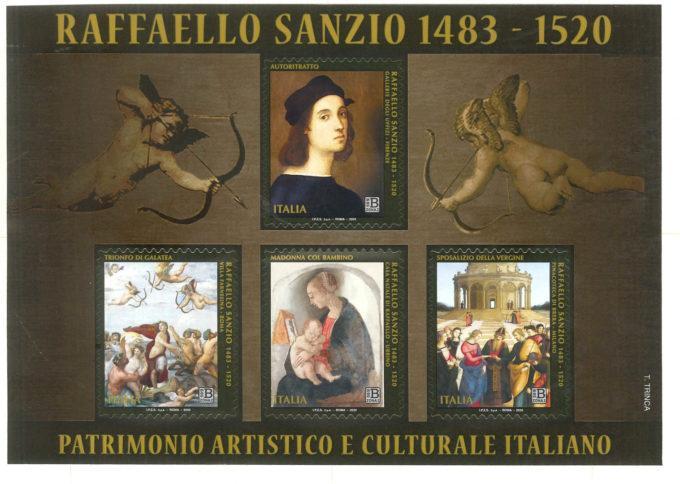 Poste Italiane – Emissione francobolli Raffaello Sanzio