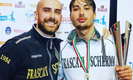 """Frascati Scherma, Colamarco e quel titolo italiano Under 23: """"Una grandissima soddisfazione"""""""