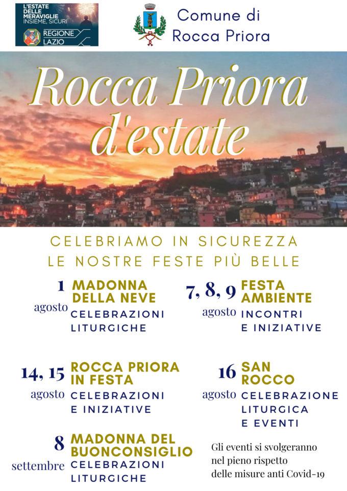Rocca Priora d'Estate