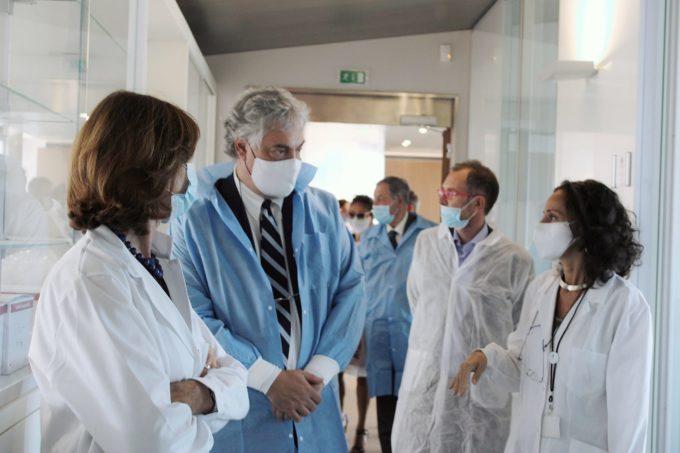 VISITA DELLE AUTORITA' LAZIALI, OGGI AI LABORATORI DI REITHERA