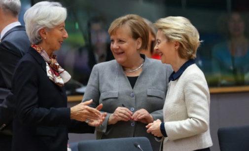 TRE DONNE AL VERTICE DELL'EUROPA