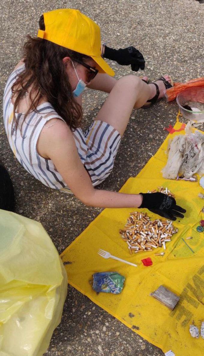 Tutti i numeri sull'indagine Beach Litter nel Lazio, in occasione della tappa di Goletta Verde