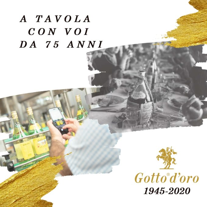 Marino, Gotto d'Oro festeggia i 75 anni con un +7% di fatturato nel 2020