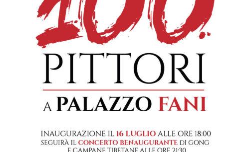 100 pittori a Palazzo Fani
