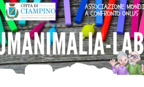 Evento Comune di Ciampino – UMANIMALIA-LAB – Luglio 2020 – Presso Oratorio di Don Edoardo, Via Londra-Ciampino