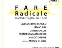 """""""Fare Radicale"""" da Villa Falconieri martedì 7 luglio"""