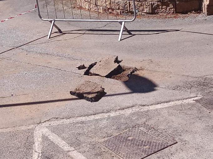 Marino. Vigili del Fuoco in via Lojodice a Frattocchie