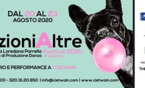 Twain CPD Regione Lazio – direzioniAltre Festival 2020: danza, teatro e performance a Tuscania