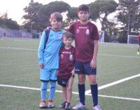 Football Club Frascati (Scuola calcio) e la famiglia Giannattasio, che feeling: tre ragazzi tesserati