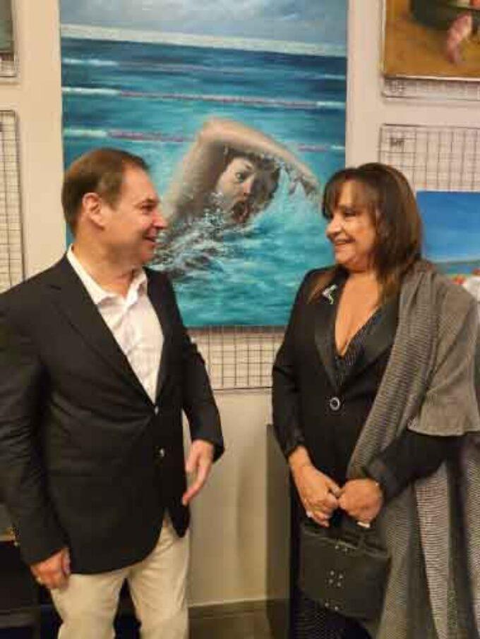 Il Mare nelle opere di Mario Russo. Mostra, in via Margutta