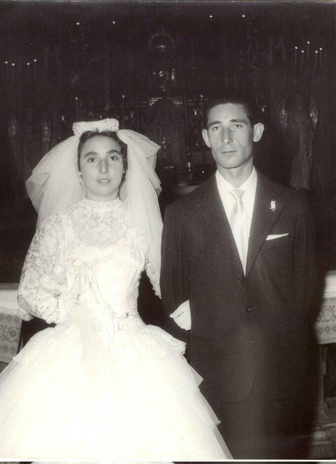 Giuseppe Felici e Fernanda Mollari 60 anni insieme