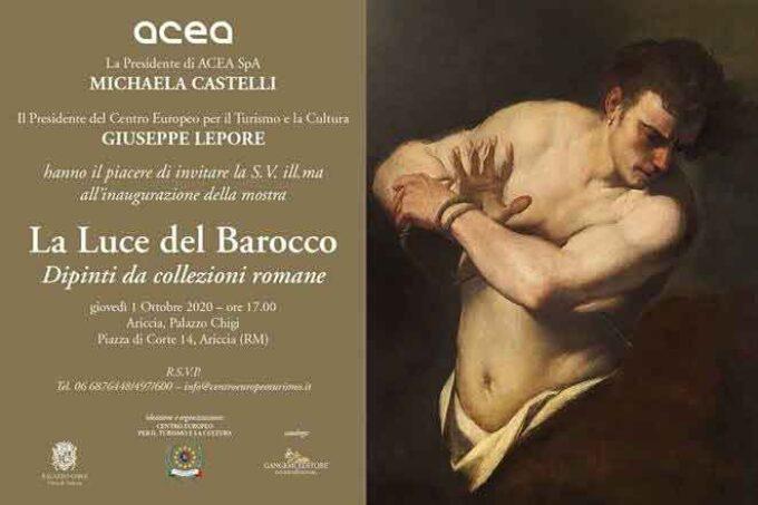 Inaugurazione Mostra LA LUCE DEL BAROCCO – 1 Ottobre 2020