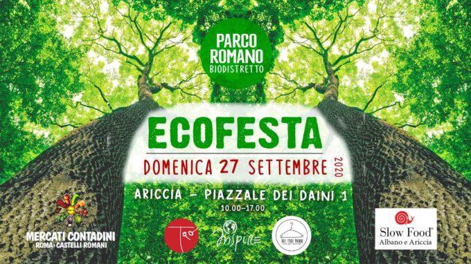 ARICCIA –  ECOFESTA A PARCO ROMANO BIODISTRETTO