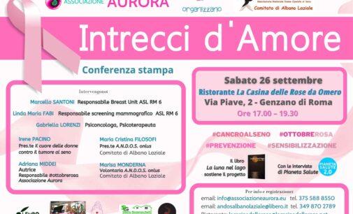 Albano Laziale – L'Associazione Aurora e A.N.D.O.S. organizzano una conferenza per confrontarsi sul tema del cancro al seno