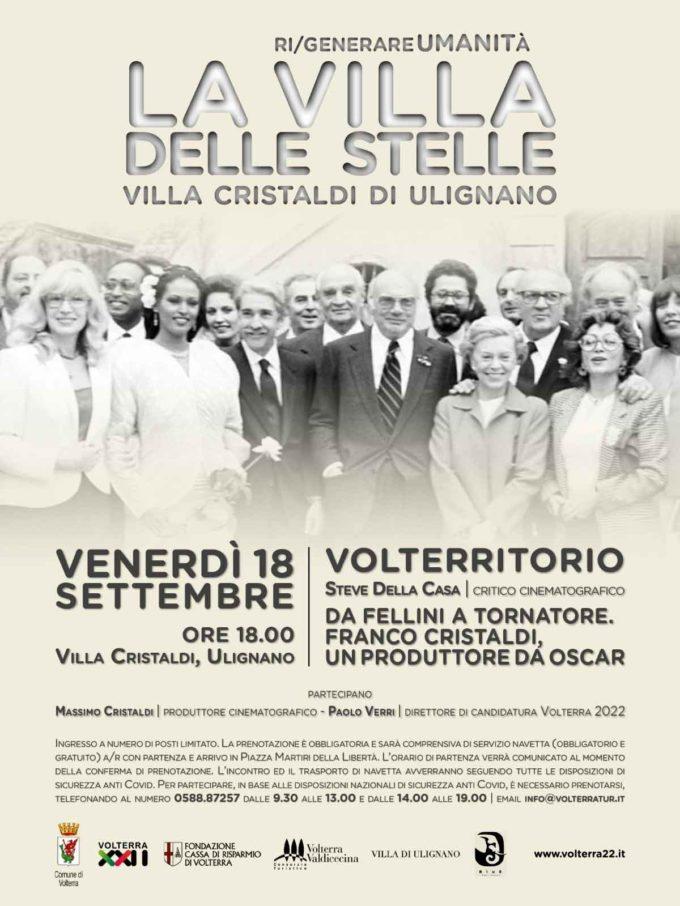 VOLTERRA 22 SI PRESENTA: UNA NUOVA TAPPA VERSO IL 2022 PER LA CITTÀ CANDIDATA A CAPITALE ITALIANA DELLA CULTURA