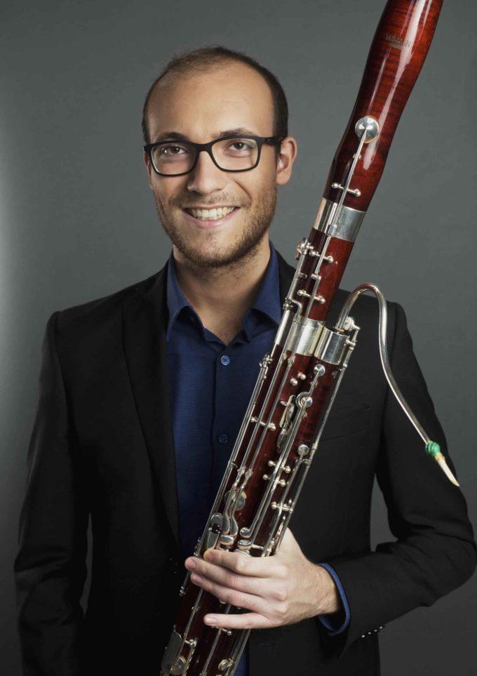 Il 56° Festival Pontino di Musica a Latina  con il giovane duo formato da Andrea Cellacchi al fagotto
