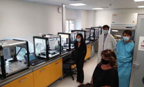Una delegazione istituzionale dalla Germania in visita al laboratorio di Calcinate