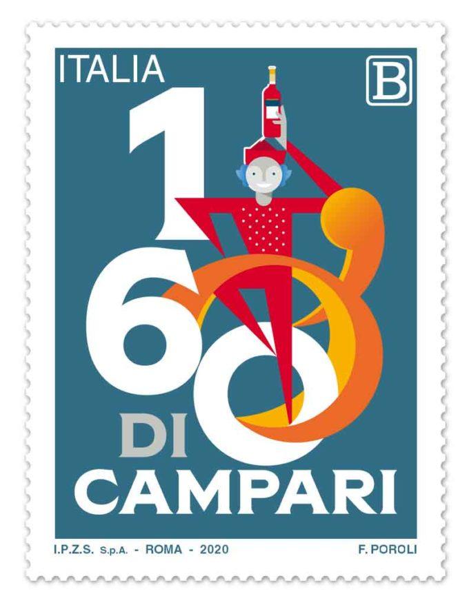 Emissione francobollo Davide Campari