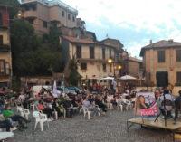 Marta Bonafoni a Rocca di Papa con Elisa Pucci