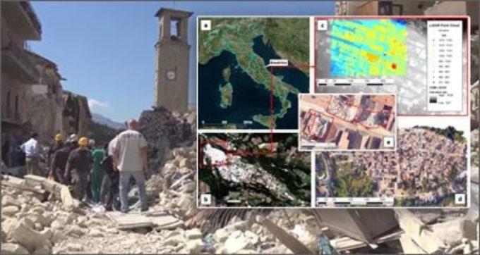Terremoto: satelliti, sensori e algoritmi per la ricostruzione post-sisma