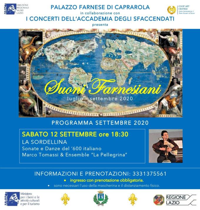 Sonate e Danze del '600 italiano al Palazzo Farnese di Caprarola