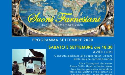 l' Ensemble Avidi Lumi al Palazzo Farnese di Caprarola