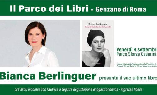 Bianca Berlinguer a Genzano