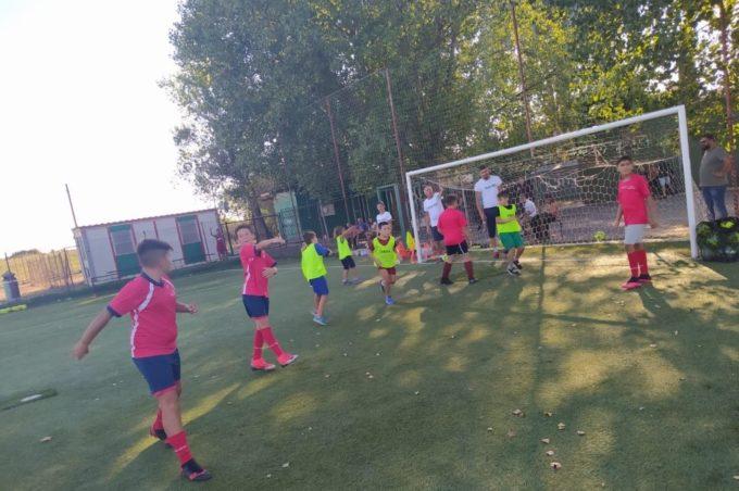 """Tor de' Cenci, l'entusiasmo di Pellegrini: """"Felici per i primi Open day della Scuola calcio"""""""