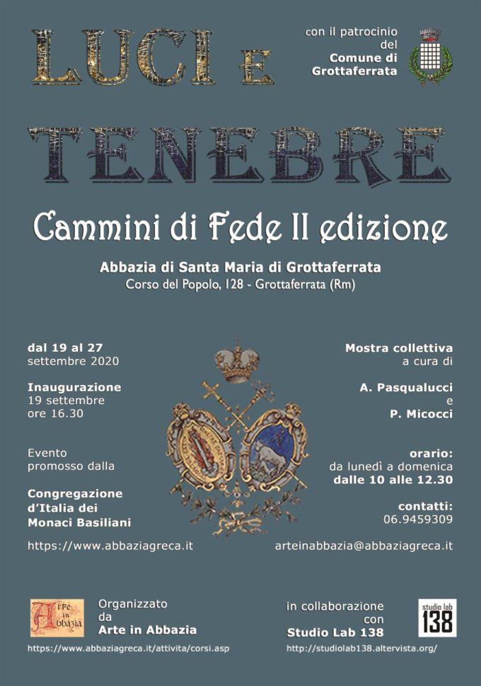 """""""Luce e Tenebre"""", mostra collettiva all'Abbazia"""