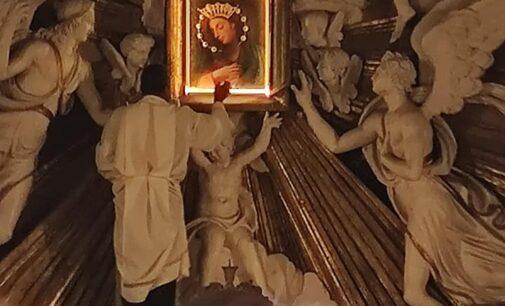 ROCCA DI PAPA, CERIMONIA IN TEMPO DI COVID 19 PER LA FESTA DELLA MADONNA DELLA PIETA'