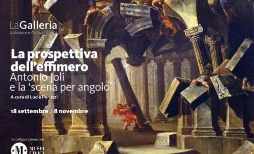 """""""La prospettiva dell'effimero. Antonio Joli e la scena per angolo""""- Modena dal 18 settembre all'8 novembre 2020"""
