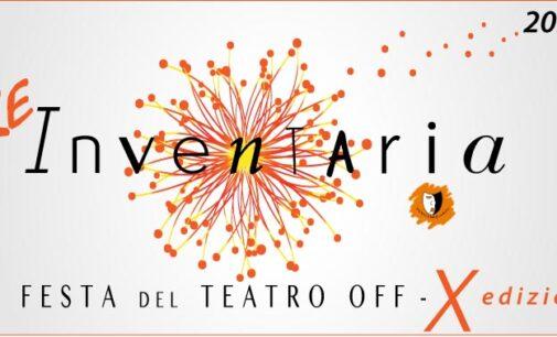 Re- Inventaria la festa del teatro off 10° | dal 9 al 18 ottobre 2020 | carrozzerie_n.o.t. – Teatro Trastevere | Roma