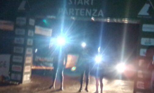 Il Team Senza Paura corre a staffetta lungo l'Adige Da Resia a Rosolina