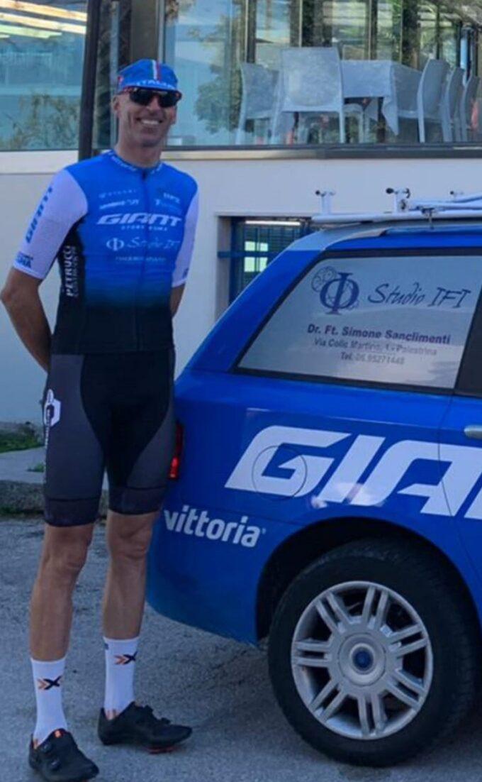Ivano Pizzi volto nuovo della IFI Giant Cycling Team