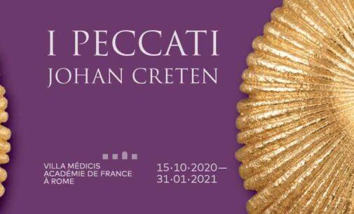 Villa Medici: nuovi orari ed opzioni di visita per la mostra I PECCATI di Johan Creten