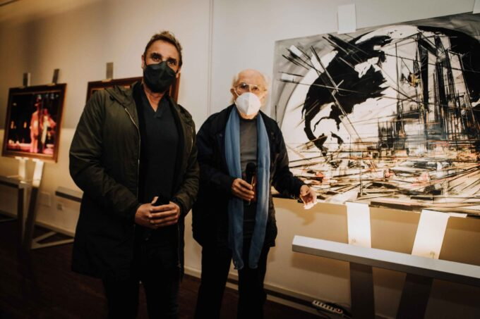 Obiettivo Globale: svelata a Palazzo Merulana l'opera di Marco Tamburro