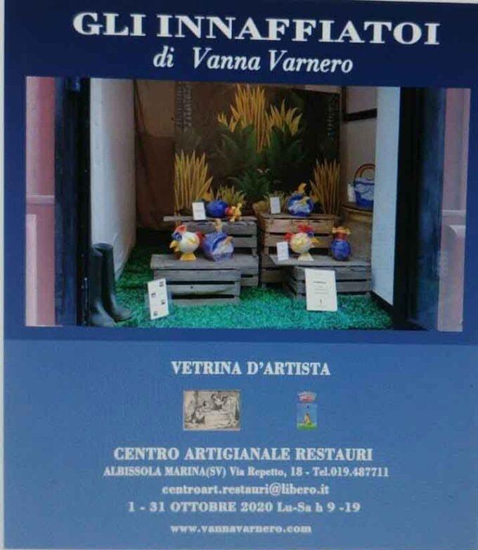 Vetrina d'Artista ad Albissola Marina (SV)