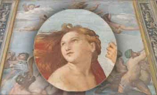 """Beni culturali: ENEA nel team che ha scoperto il """"blu egizio"""" nella Galatea di Raffaello"""