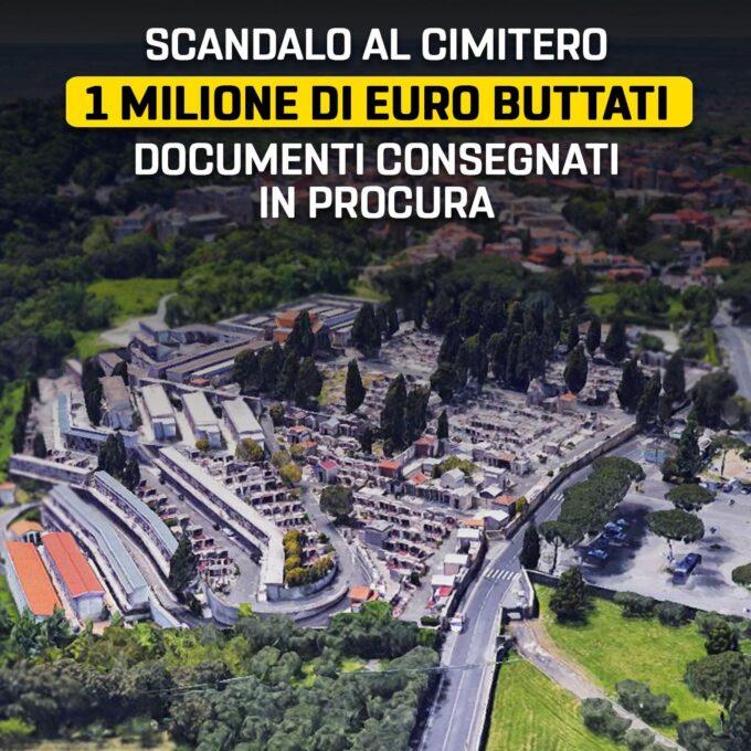 Carlo Colizza: Sperpero denaro cimitero di Marino